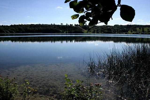 Det smukke område ved Hald Sø og Dollerup Bakker er et af de smukke naturområder man på vandretur langs hærvejen. Foto: Sten Porse CC BY-SA 3.0, Wikimedia