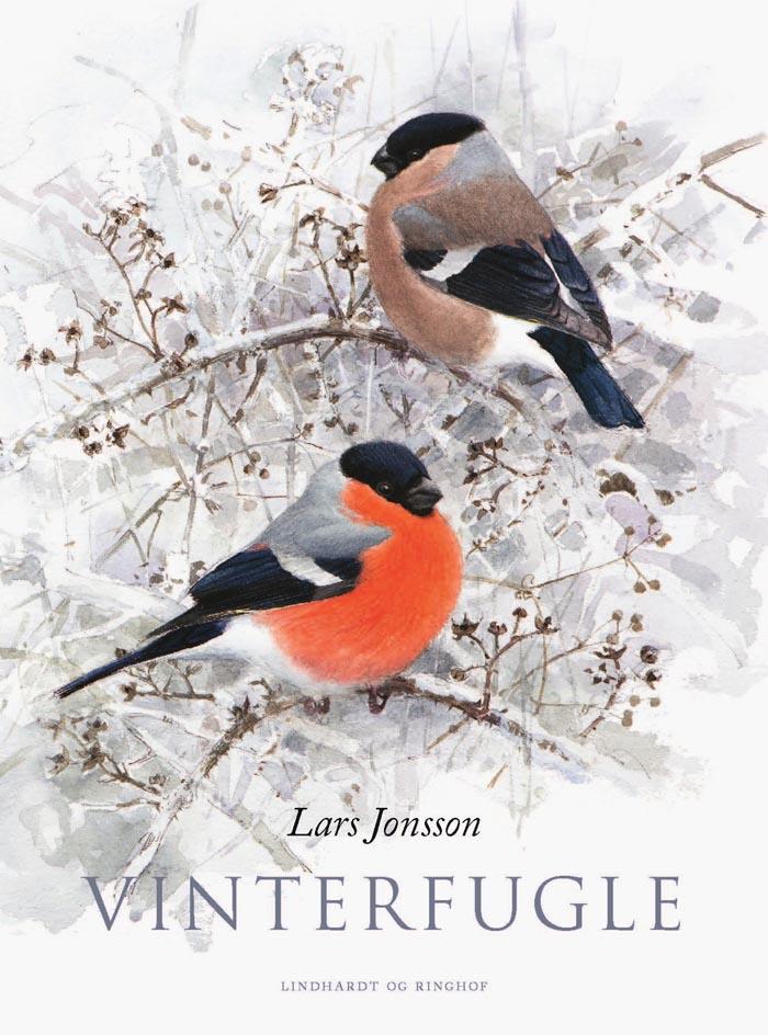 Forsiden af bogen Vinterfugle af Lars Jonsson