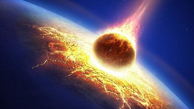 Forskere har fundet verdens største asteroidenedslag i Australien, der ramte for millioner af år siden. Fotografik: NASA.