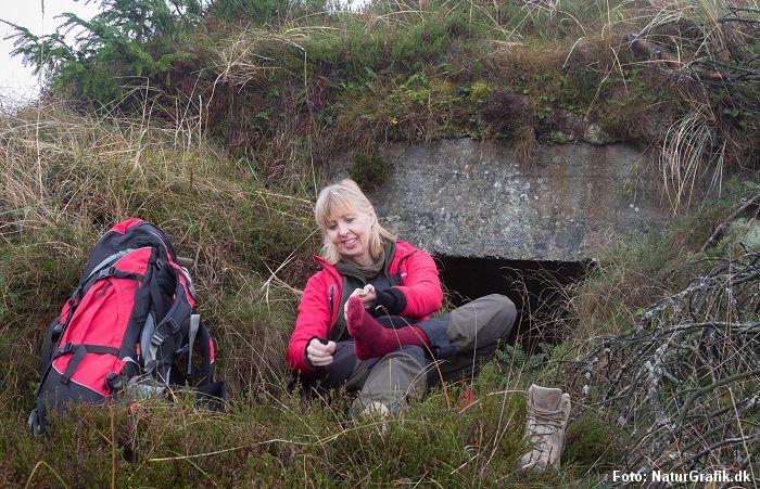 Valg af strømper til vandring - NaturGuide.dk tester i praksis.