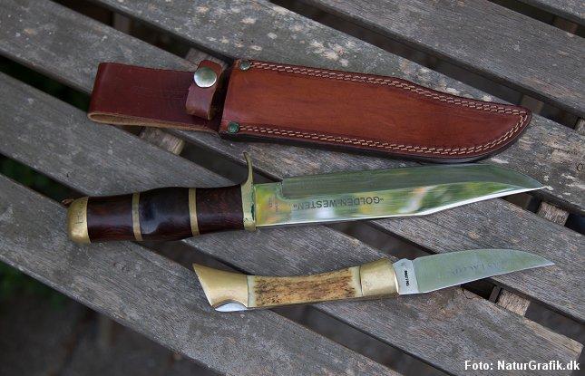 Knivklinger, der overstiger 12 cm, må fremover anvendes i erhverv, til husholdningsbrug eller til brug ved jagt, lystfiskeri eller sportsudøvelse eller til et andet lignende anerkendelsesværdigt formål.
