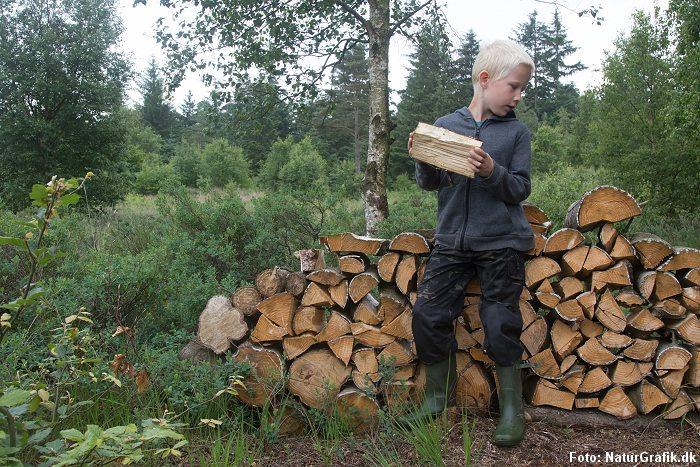 Pinewoods Lappland Camou-bukser til børn.