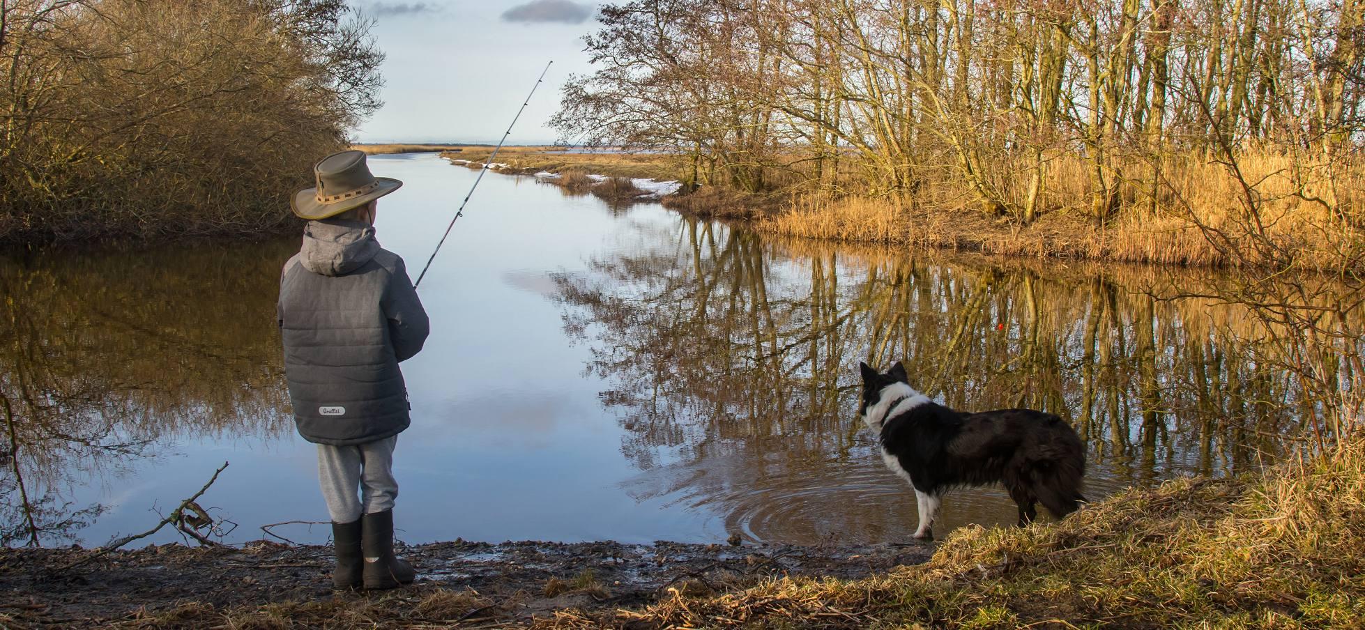 Hvordan laver du en fiskestang