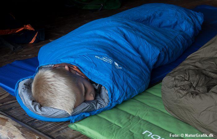 Soveposen skal passe til barnet.