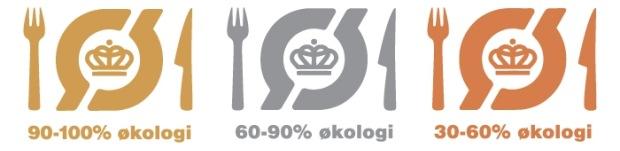 Spisemærket fås i guld, sølv og bronze, afhængig af graden af økologi.