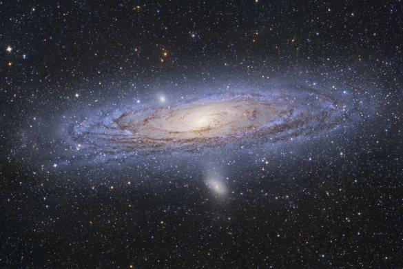 Et nyt, meget præcist kort over galakserne i vores univers, giver ny viden om universets tilsyneladende uendelige udvidelse. Foto: NASA.
