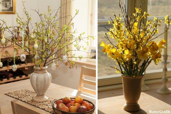 Tag forskud på forårets udspring. Tag en buket af grene med ind i stuen og lade bladene springe ud før tid.