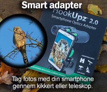 Adapter til din mobil og kikkert
