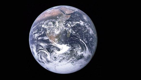 Jorden fotograferet fra Apollo 17. Foto: NASA.