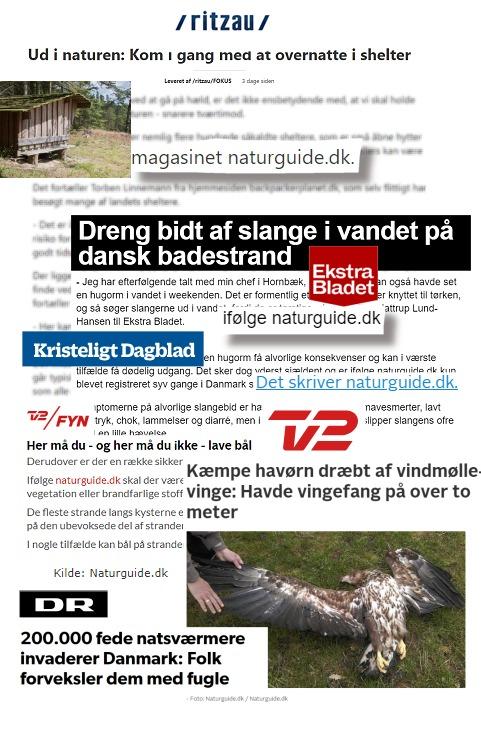 NaturGuide.dk i medierne.