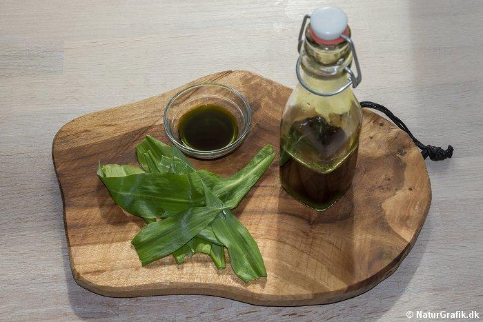 hjemmelavet ramsløg-olie