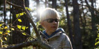 Test af solbrille til børn