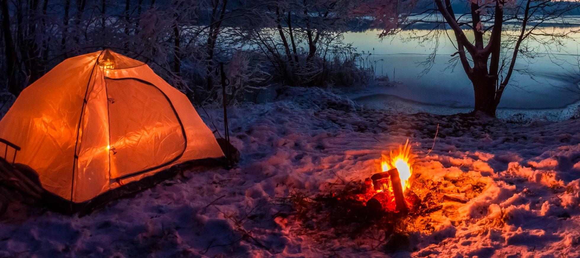 e8642209 Sov ude om vinteren - og hold varmen i soveposen - NaturGuide.dk - Danmarks  natur på nettet