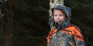 Test af jagttøj til børn