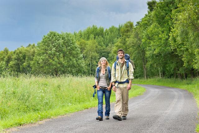 en vandreferie kan være godt for både krop og sjæl. Foto: GraphicStock