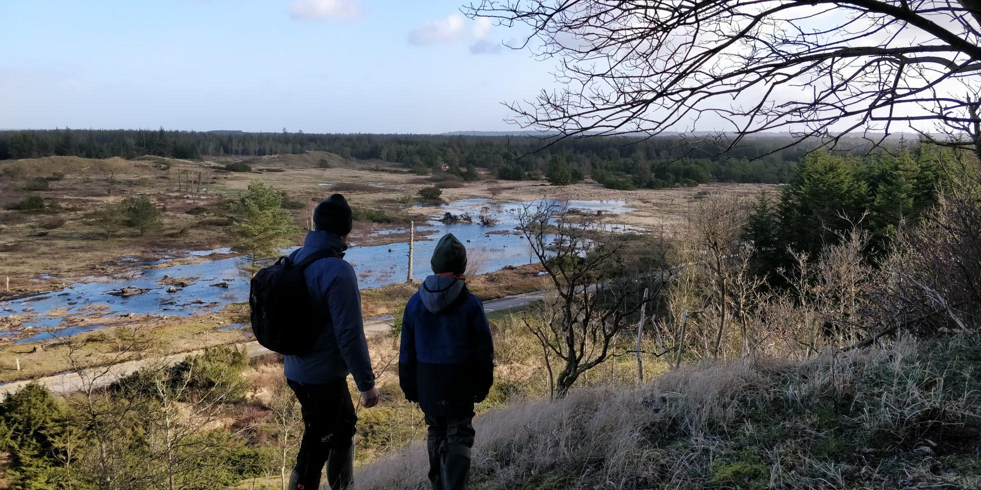 Ud i naturen i virusfrit terræn NaturGuide.dk Danmarks